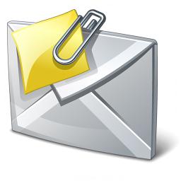 correo electrónico archivos adjuntos